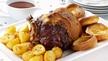 Nevens Recipes - Roast Rib of Beef on the Bone with Crispy Roast Potatoes