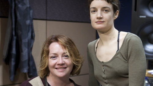 Writer Eimear McBride and actress Aoife Duffin feature in McBride's new radio work, 'Mouthpieces'
