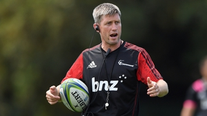 Ronan O'Gara is currently a coach with Super Rugby champions Crusaders
