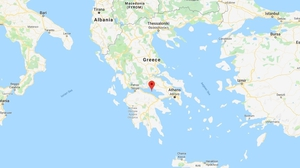 The epicentre was in the Gulf of Corinth (Pic: Google Maps)