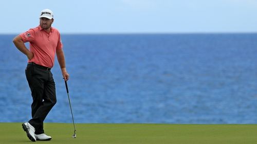 Graeme McDowell is right in the mix