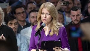 Zuzana Caputova has been elected Slovakia's first female president