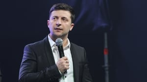 Just like that: Ukraine's new president Volodymyr Zelensky