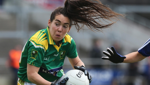 Sarah Houlihan in action for Kerry