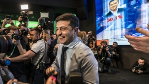 Volodymyr Zelenskiy has consistently led opinion polls