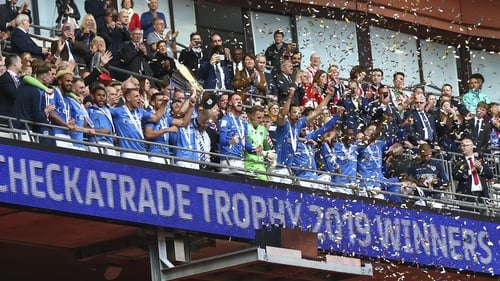 Portsmouth lift the Checkatrade Trophy