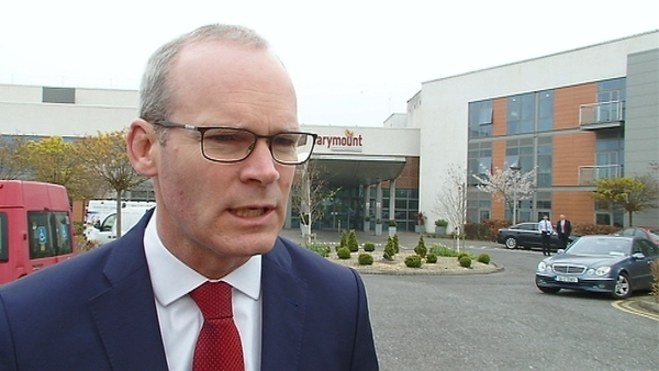 Simon Coveney said there is support, advice and funding available