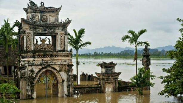 An ancient water puppet theatre at Ninh Binh (iStock/PA)