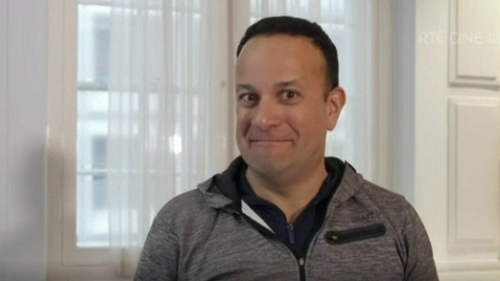 """Varadkar was shocked to learn his """"true age"""" was 53."""