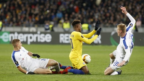 Kiev and Chelsea were both sanctioned for incidents in their game