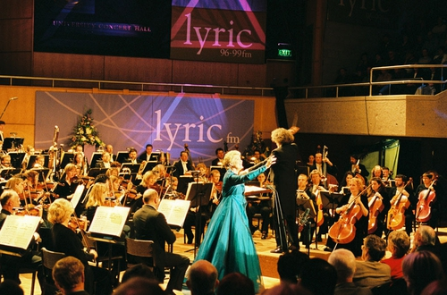Lyric FM Gala concert back in 1999 when it first launched.