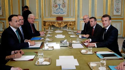 Emmanuel Macron said France would never let Ireland down