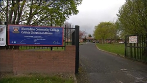 Shots were fired outside Riversdale Community College in Blanchardstown