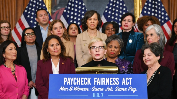 Michelle Williams spoke on Capitol Hill in Washington DC on Tuesday