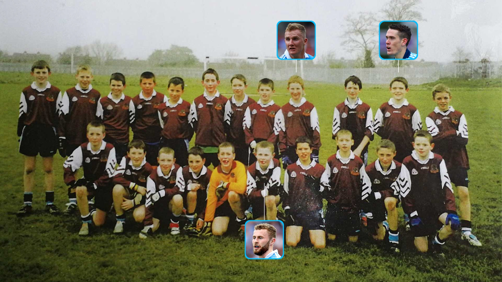 Image - The victorious 2005 North Dublin U-12 team. John O'Sullivan is back row, fifth from left
