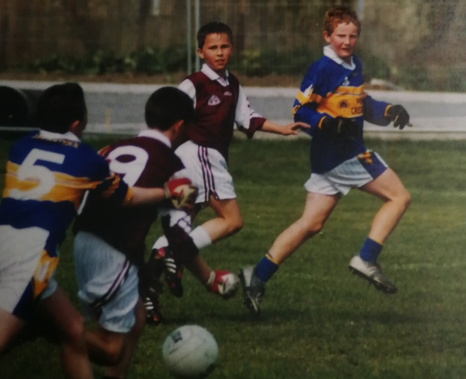 Image - O'Sullivan and Kilkenny square off in club action at U11 level
