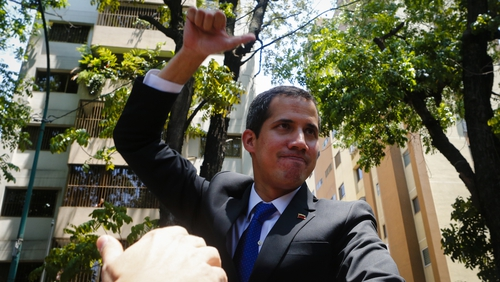 Juan Guaido says he fears being abducted by government agents