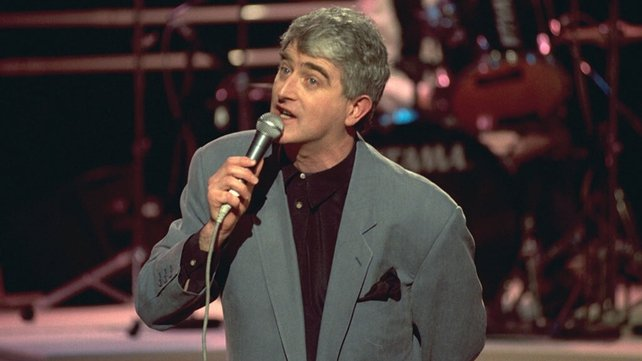 Dermot Morgan performing on 'The Late Late Show' (1992)