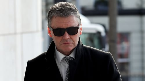 Dessie O'Hare told gardaí he was employed by Dublin businessman Jim Mansfield Jr
