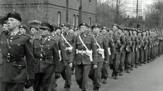 Irish Soldiers Bound For Cyprus
