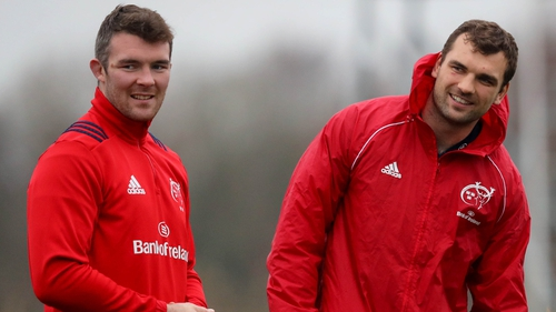 Peter O'Mahony and Tadhg Beirne were the top tacklers in the quarter-final win over Edinburgh