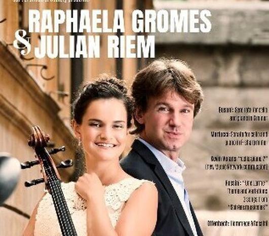 Raphaela Gromes and Julian Riem on Music Network tour