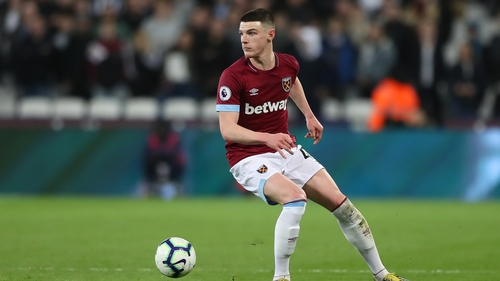 Declan Rice could be set for a summer move to Old Trafford