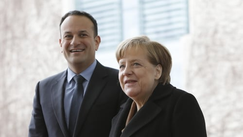 Merkel and Varadkar to meet ahead of EU Brexit summit