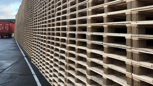 CJ Sheeran produces two million timber pallets a year
