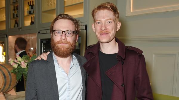 Brian and Domhnall Gleeson