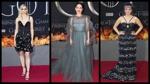 The stars were out in force for the end of the fantasy epic