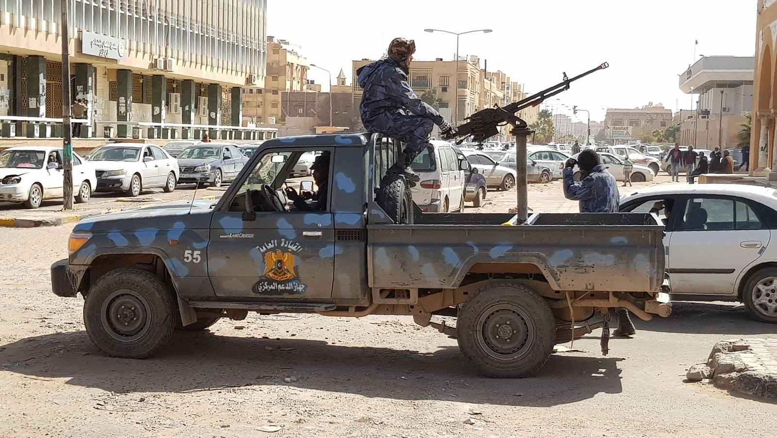 Trump speaks with Libya warlord Haftar
