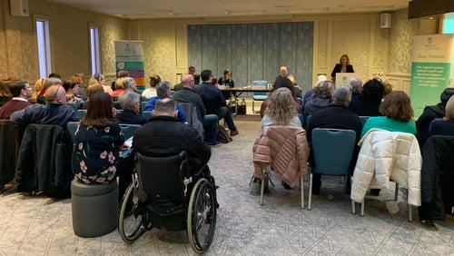 John Saunders was speaking in Galway at the latest in a series of meetings to outline the work carried out by the Commission