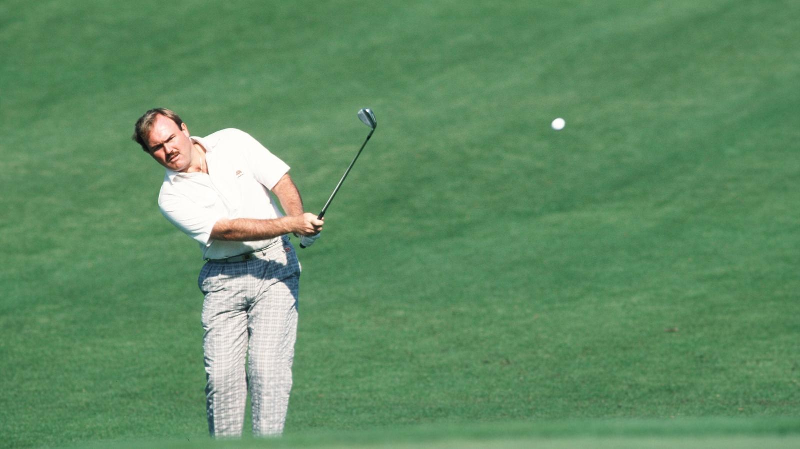 Image - Ronan Rafferty playing the Masters in 1990