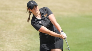 Olivia Mehaffey carded a second round 72