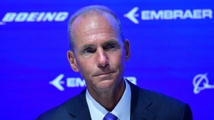 Boeing CEO Dennis Muilenburg faced shareholders for the first time since two fatal crashes that led to the 737 MAX's grounding worldwide