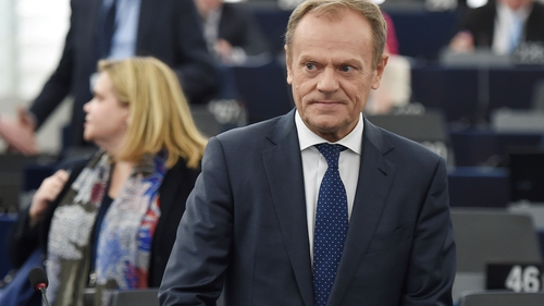 Donald Tusk confirmed the extension had been granted
