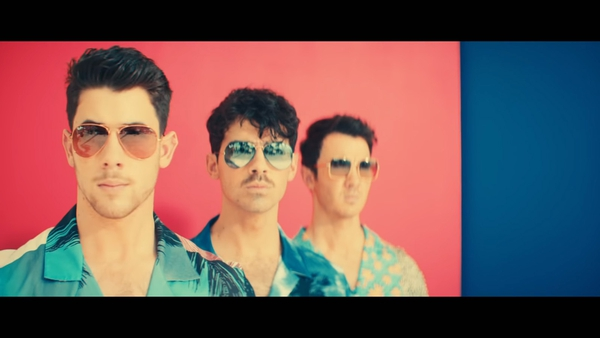 Nick, Joe and Kevin Jonas in their new music video for Cool