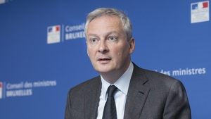 French Finance Minister Bruno Le Maire said they are determined to implement a tax on the largest digital companies