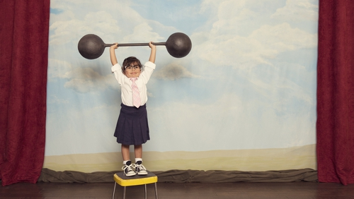 Children are more likely to mimic our behaviours around body image.