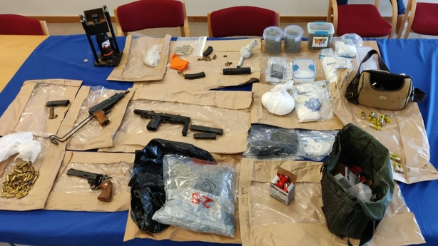 Guns, Drugs, Ammunition And A Monkey Have Been Seized In Dublin