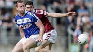 Laois' Donie Kingston and Westmeath's Sam Duncan pictured during last year's Leinster championship meeting