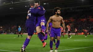 Liverpool left it late against Southampton