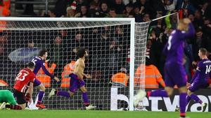 Mo Salah scored a goal