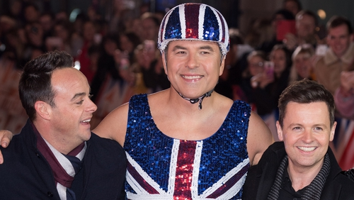 Ant and Dec reunite on Britain's Got Talent