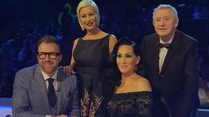 Ireland's Got Talent judges Pic: courtesy of Twitter