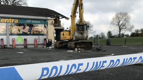 The robbery happened shortly before 4.30am in Derry