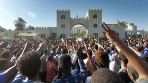Protests in Sudan in April led to the ousting of President Omar Hassan al-Bashir