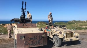 Forces loyal to Libya's UN-backed unity government guard Tajura, a coastal suburb of the Libyan capital Tripoli