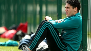 Joey Carbery will most likely be watching from the sidelines next week